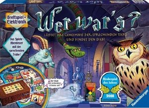 Ravensburger 21854 - Wer wars? Kinderspiel des Jahres 2008