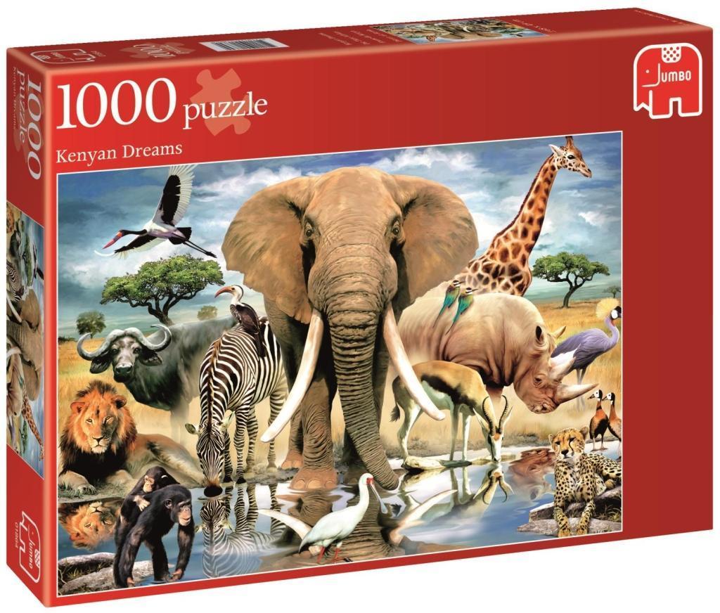 Die Tiere Afrikas - 1000 Teile