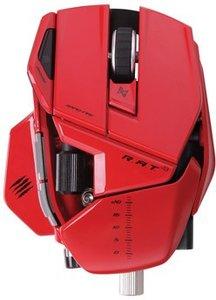 Mad Catz R.A.T. 9 Wireless Gaming Mouse für PC und Mac - rot