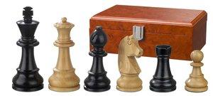 Philos 2121 - Ludwig XIV, Königshöhe 76 mm, gewichtet, Schachfiguren