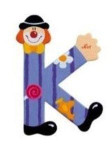 Sevi 81747 - Buchstabe: Clown K