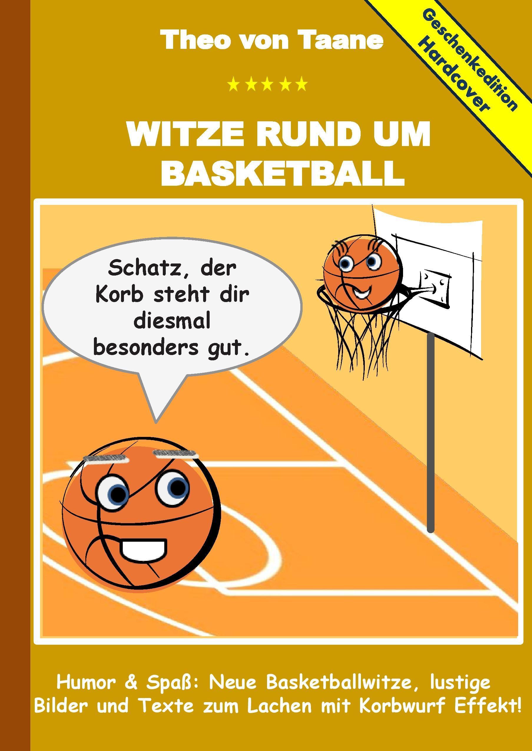 Geschenkausgabe Hardcover: Witze rund um Basketball - Humor & Sp