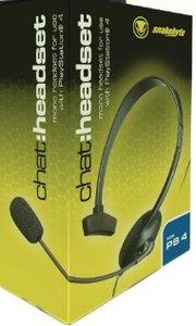 snakebyte - chat:Headset, Mono-Headset für PS4