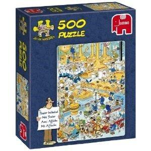 Jan van Haasteren - Die Brauerei - 500 Teile Puzzle