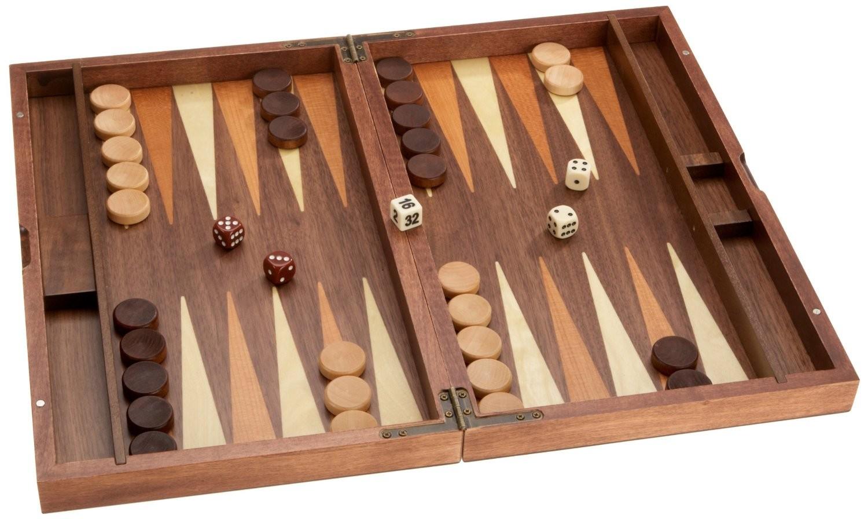 Philos 1144 - Backgammon Kastos, medium, Kassette mit Magnetvers