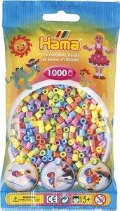 Hama 207-51 - Perlen, neon gemischt, 1000 Stück