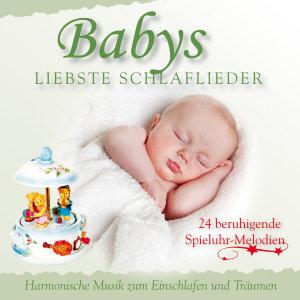 Babys liebste Schlaflieder, 1 Audio-CD
