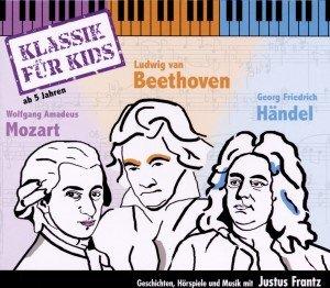 Wolfgang Amadeus Mozart. Ludwig van Beethoven. Georg Friedrich Händel, 3 Audio-CDs
