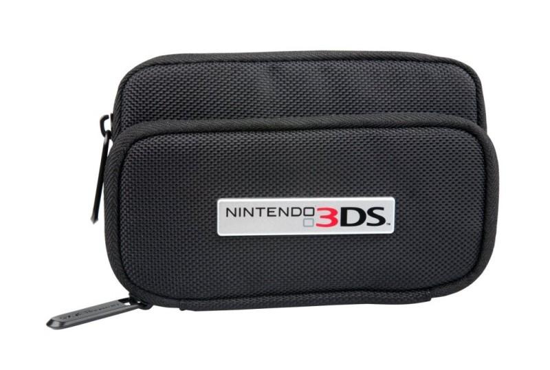 3DS GameTrek Case - Schwarz