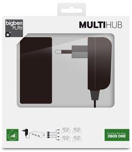 USB Multi Hub 4-fach (inkl. Netzteil)