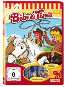 Bibi & Tina - Das Pferd in der Schule. Das Westernturnier, 1DVD