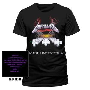 Master Of Puppets (T-Shirt,Schwarz,Größe XL)