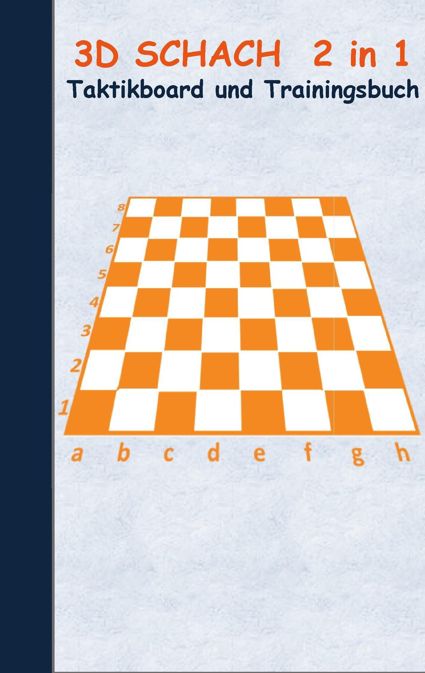Schach: 2 in 1 Notiz- und Taktikblock im Pocketformat (Postkarte