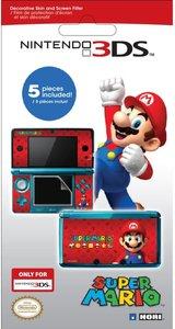 Bildschirm-Schutzfolie + Super Mario Motiv für Nintendo 3DS