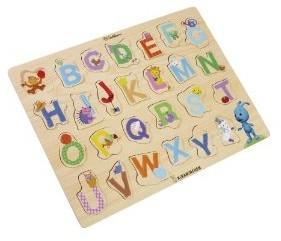 Eichhorn 109467052 - Kikaninchen Holz Buchstaben Puzzle