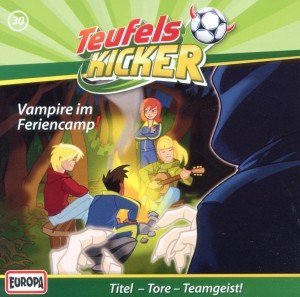 Die Teufelskicker - Vampire im Feriencamp!, 1 Audio-CD