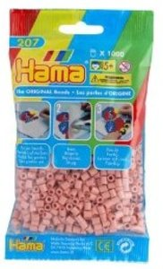 Hama 207-26 - Perlen hautfarbe, 1000 Stück