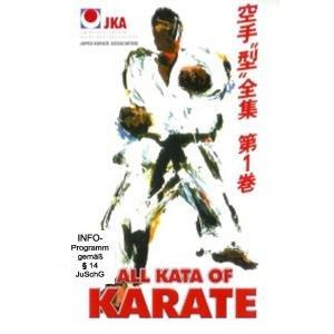 Mikio, Y: All Kata of Karate Vol.1