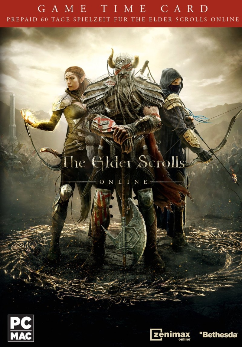 The Elder Scrolls Online - Game Time Card 60 Tage (PC/Mac)