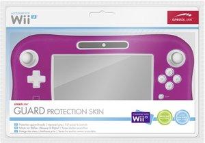 GUARD Silikon-Schutzhülle - Protection Skin für Wii U(R) Gamepad, pink