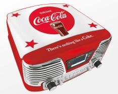 Kompaktanlage mit Plattenspieler TD79II Coca Cola®