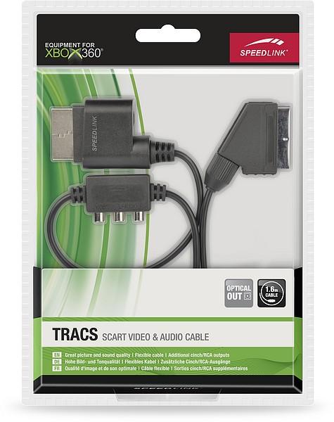 Speedlink TRACS Scart Video & Audio Cable - SCART-Kabel für XBOX