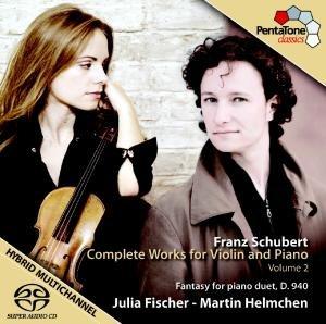 Fischer, J: Werke für Violine und Klavier Vol.2