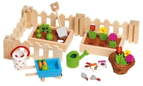 Goki 51729 - Accessoires Mein kleiner Garten, für die Puppenhäus