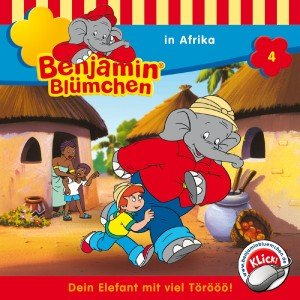 Benjamin Blümchen in Afrika, Audio-CD