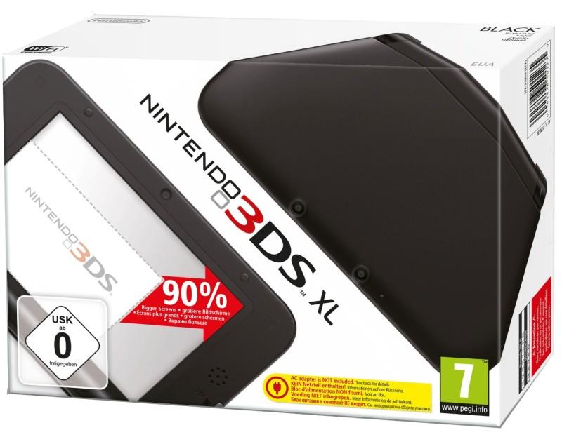 Nintendo 3DS XL Konsole - schwarz