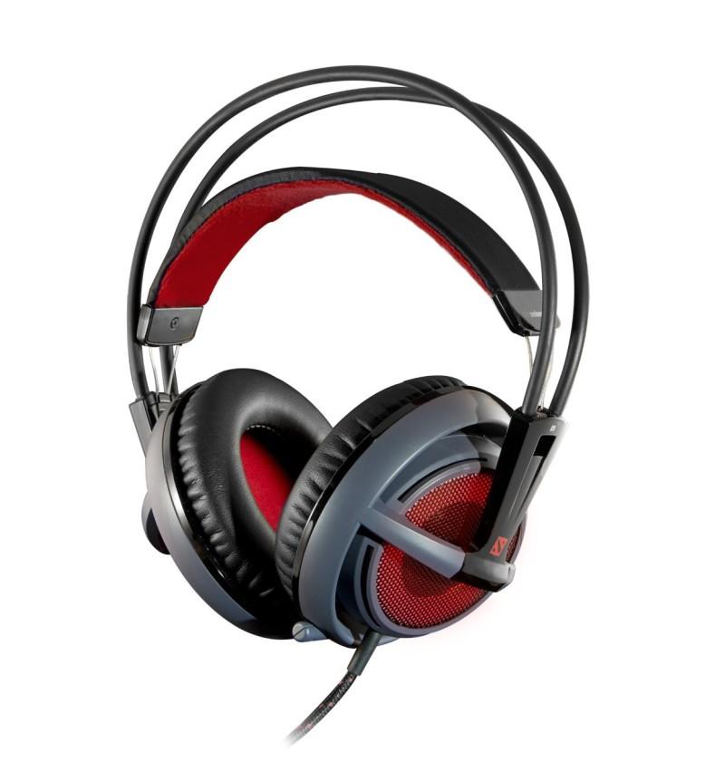SteelSeries SIBERIA V2 Dota 2 Gaming Over-Ear Kopfhörer mit Mikr