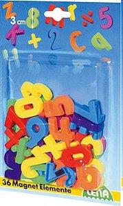 Lena 65747 - Magnet: Zahlen + Zeichen