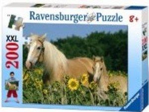 Pferdeglück. Puzzle 200 Teile XXL
