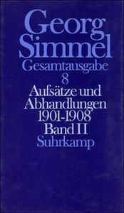Aufsätze und Abhandlungen 1901-1908. Tl.2