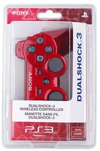 Sony Dualshock 3 Controller - Rot (Dual Shock 3)