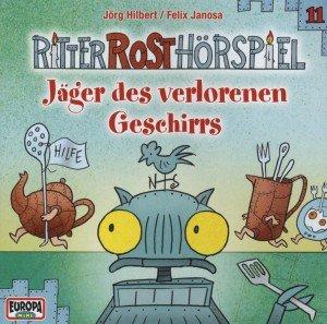 Ritter Rost Hörspiel - Jäger des verlorenen Geschirrs, 1 Audio-CD