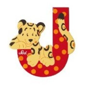 Sevi 81610 - Buchstabe: Jaguar, J