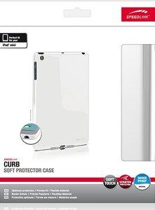 CURB Soft Protector Case, Schutzhülle für Apple iPad mini, weiß