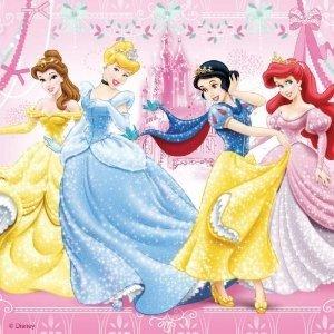 Ravensburger 09277 - Disney Princess: Schneewittchen, 3 x 49 Teile Puzzle