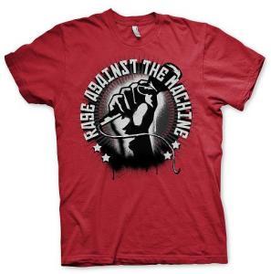 Red Mic Check (T-Shirt Größe M)