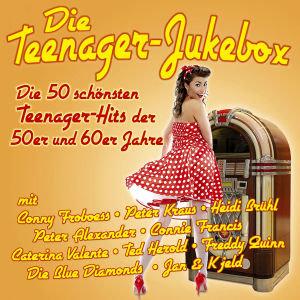 Die Teenager-Jukebox - Die 50 schönsten Teenager-Hits der 50er und 60er Jahre, 2 Audio-CDs