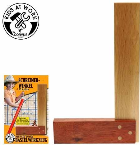 Corvus A600009 - Kids at work: Winkel aus Holz
