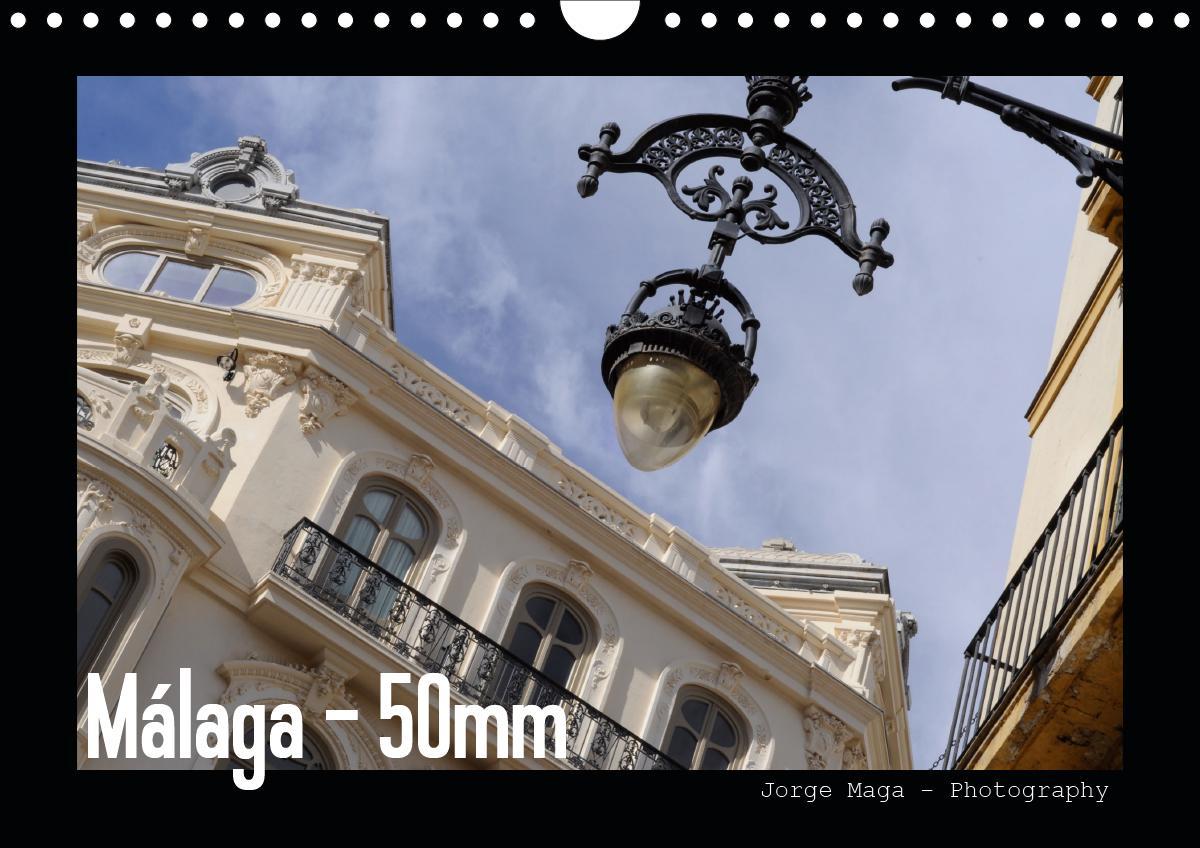 Málaga - 50mm (Wandkalender 2021 DIN A4 quer)