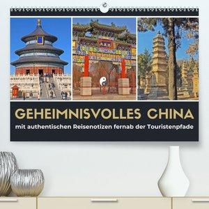 Geheimnisvolles China 2021 (Premium, hochwertiger DIN A2 Wandkal