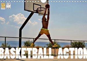 Basketball Action (Wandkalender 2021 DIN A4 quer)