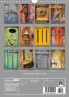 HISTORISCHE TÜREN & TORE (Wandkalender 2021 DIN A4 hoch)
