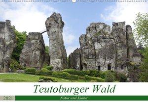 Teutoburger Wald - Natur und Kultur (Wandkalender 2021 DIN A2 qu