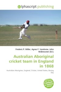Australian Aboriginal cricket team in England in 1868