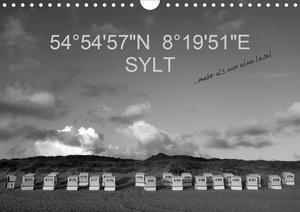 "54°54\'57\""N 8°19\'51\""E SYLT (Wandkalender 2021 DIN A4 quer)"