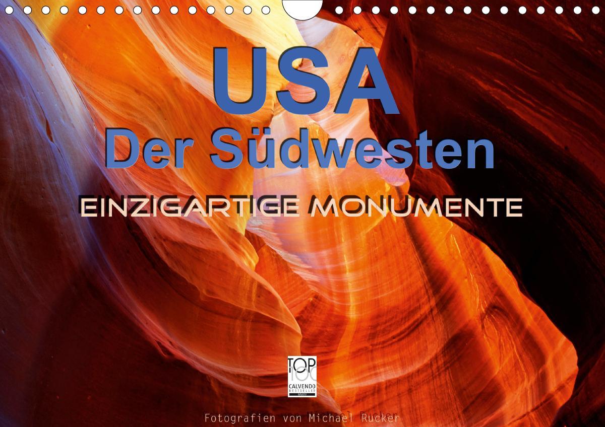 USA Der Südwesten - Einzigartige Monumente (Wandkalender 2021 DI